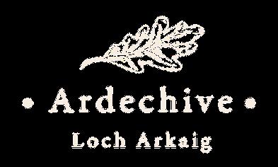 Ardechive Loch Arkaig Highland Logo